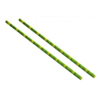 Bamboo Paper Straws - Green...