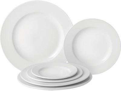"""Pure White Wide Rim Plate 10.6"""" (27cm)"""