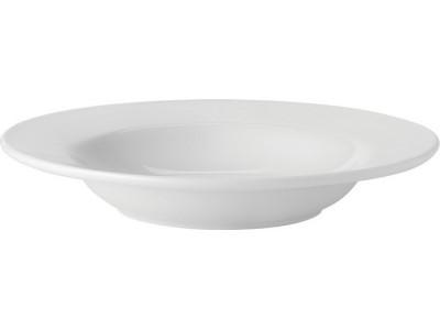 "Pure White Rimmed Soup 9"" (22.5cm)"