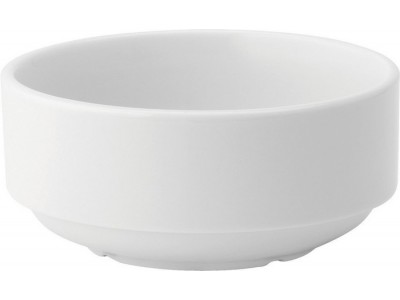 Pure White Stacking Soup Bowl 10oz...