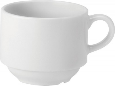 Pure White Stacking Cup 7oz (20cl)
