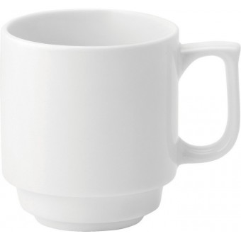 Pure White Stacking Mug...