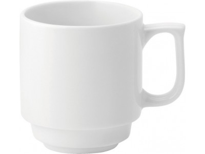 Pure White Stacking Mug 10oz (28cl)