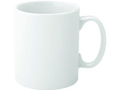 Pure White Economy Straight-Sided Mug...