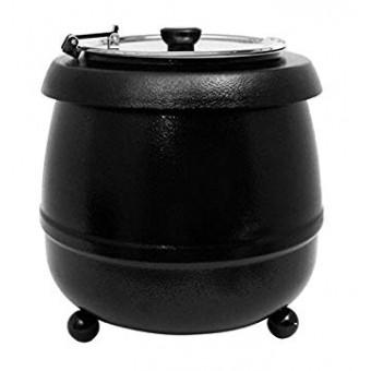 Soup Kettle Black 10 litre