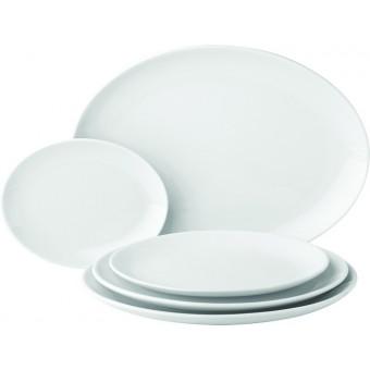 """Titan Oval Plate 8.25"""" (21cm)"""