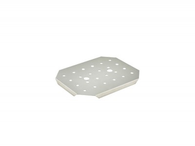 St/St 1/2 Size Drainer Plate