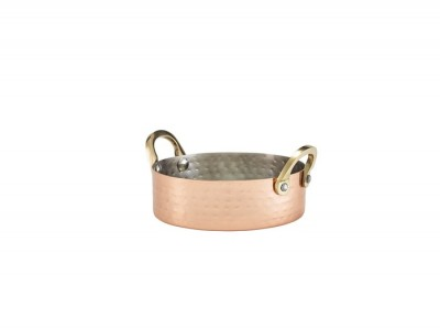 Mini Hammered Copper Plated Casserole...