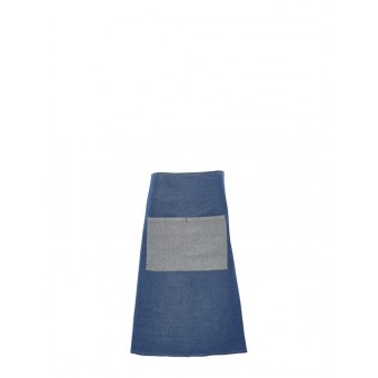 Double Denim Waist Apron 90...