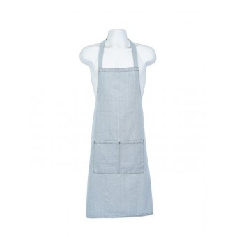 Light Blue Denim Bib Apron...