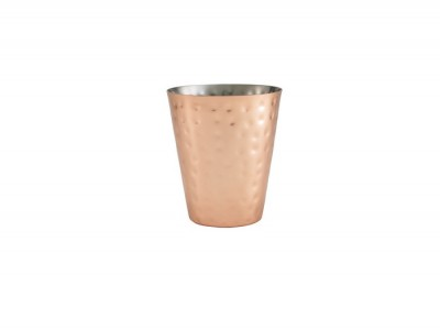 Hammered Copper Plated Conical...