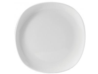 """Titan Soft Square Plate  9.75"""" (24.5cm)"""