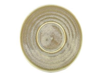 Terra Porcelain Matt Grey Saucer 11.5cm