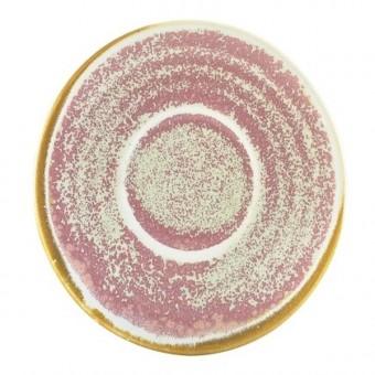 Terra Porcelain Rose Saucer...