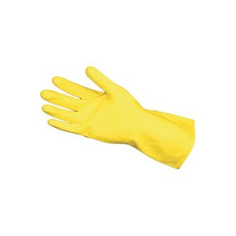 Yellow Rubber Gloves Food Safe