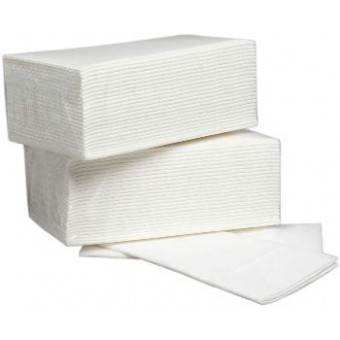 White Airlaid Napkin Case/1000