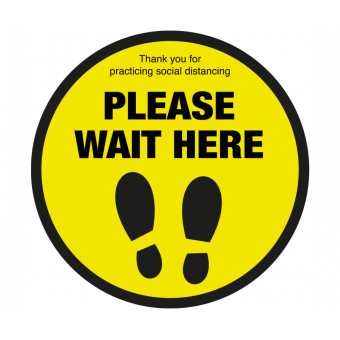 Please wait here with...
