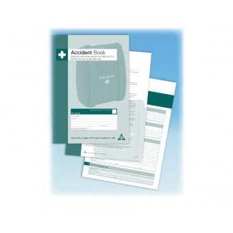 First Aid Accident Book
