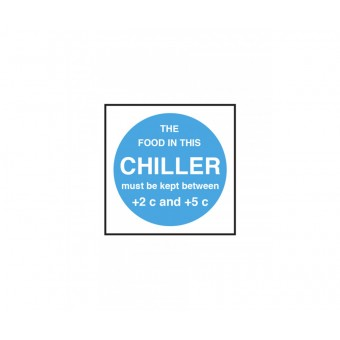 Chiller Temperature Notice