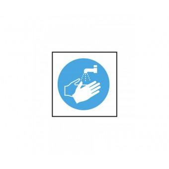 Wash Hands Symbol vinyl...