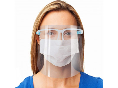 Face Shield with Glasses Frame 4...
