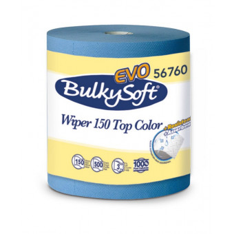 Bulkysoft Wiper Roll Blue 3...