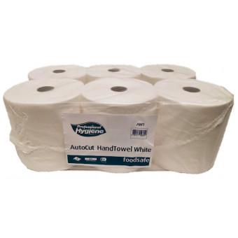Autocut Dispenser Roll White