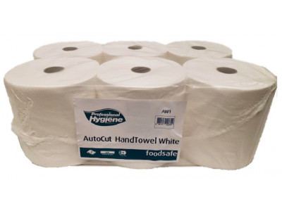 Autocut Dispenser Roll White