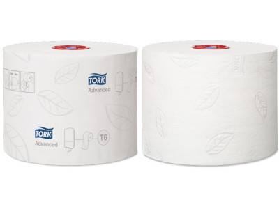 Tork Mid Size Toilet Roll Advanced -...