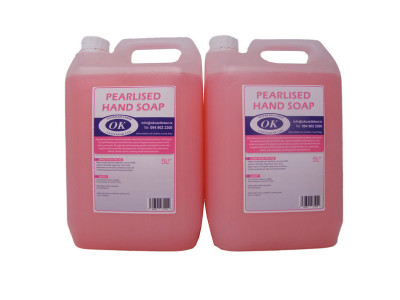 OK Pink Pearl Hand Soap Twin Pack