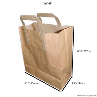 Kraft Brown Paper Carrier...