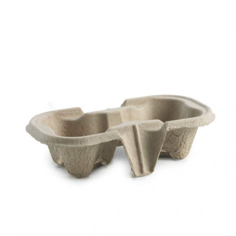 2 Cup Carrier Trays