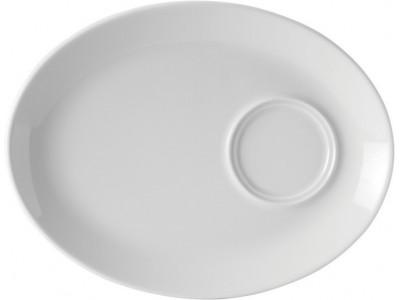 "Titan Oval Gourmet Plate 11"" (28cm)"