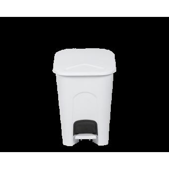 16 Litre Pedal Bin Ice White