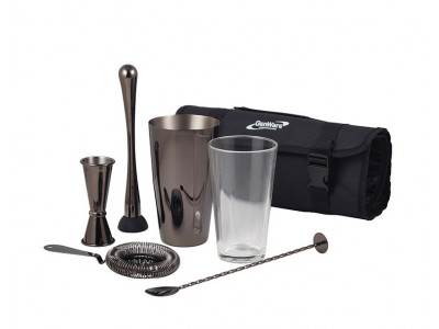 Gun Metal Cocktail Bar Kit 7pcs