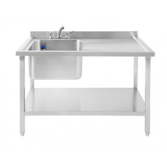 Commercial Sink Single Bowl...