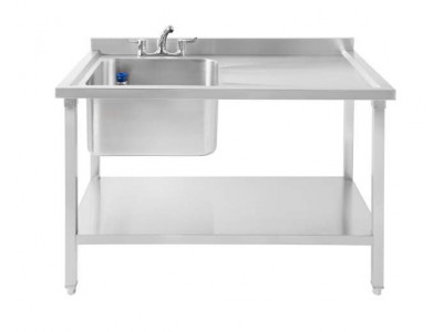 Commercial Sink Single Bowl Right...