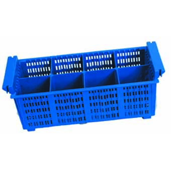 Plastic Cutlery Rack With 8...