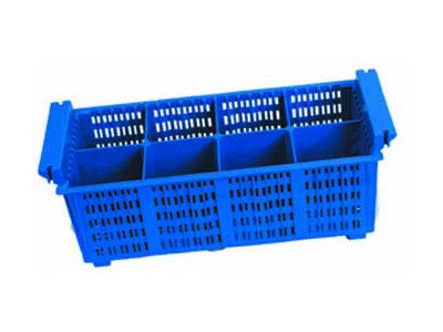 Plastic Cutlery Rack With 8 Compartments