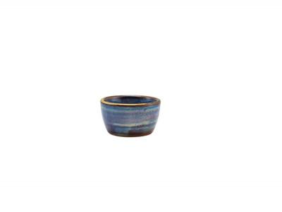 Terra Porcelain Aqua Blue Ramekin...