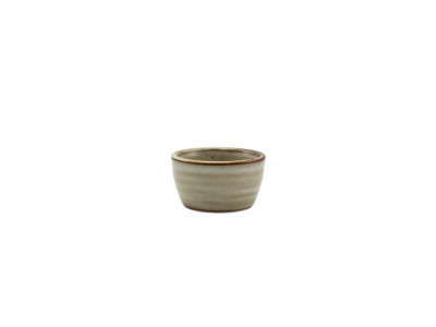 Terra Porcelain Smoke Grey Ramekin...
