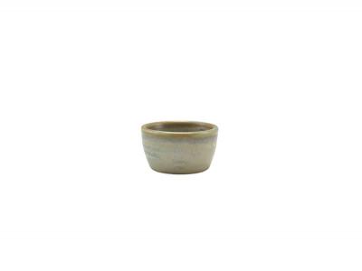Terra Porcelain Matt Grey Ramekin...