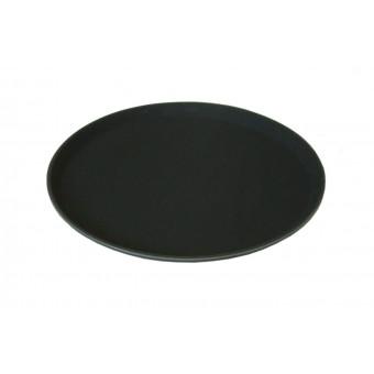 """11"""" Black non slip tray"""