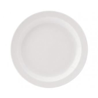 Pure White Narrow Rim Plate...