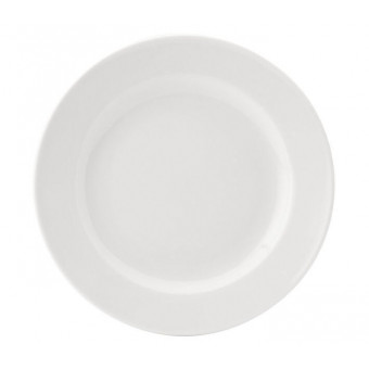 Pure White Wide Rim Plate...