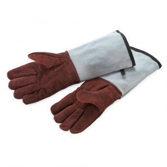 Bakers Gloves Leather Fingered