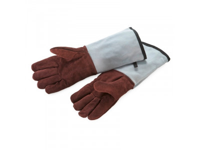 Bakers Gloves Leather Fingered