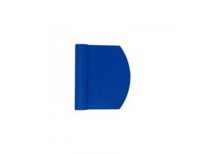 Dough Scraper Blue Plastic 120mm
