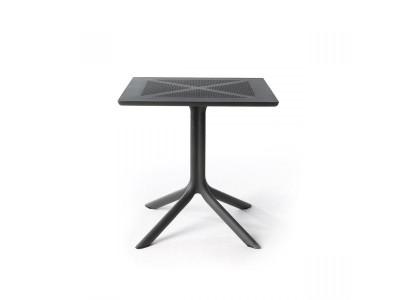 ClipX 70 Antracite 4 Spoke Square Table