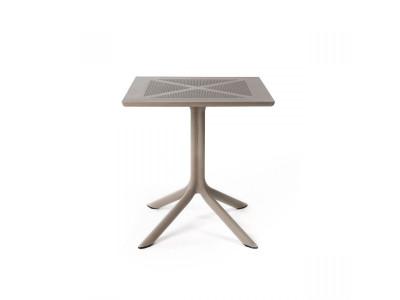 ClipX 70 Tortora 4 Spoke Square Table